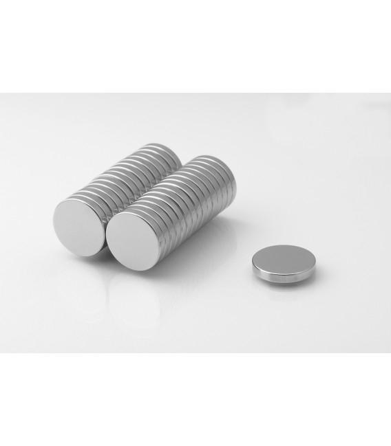 Neodymium disc magnet 18x3 thick N38