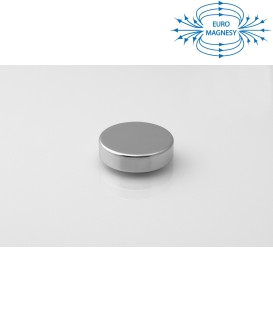 Neodymium disc magnet 22x6 thick N38