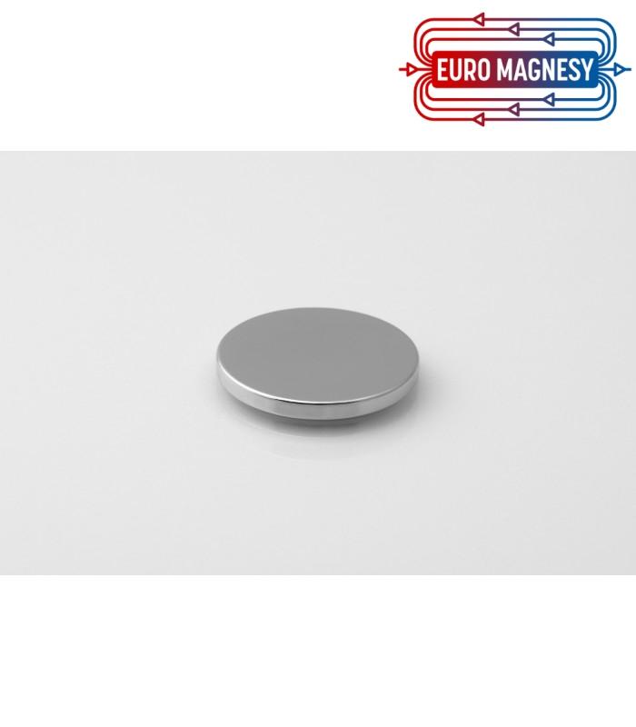 Neodymium disc magnet 25x2,5 thick N38