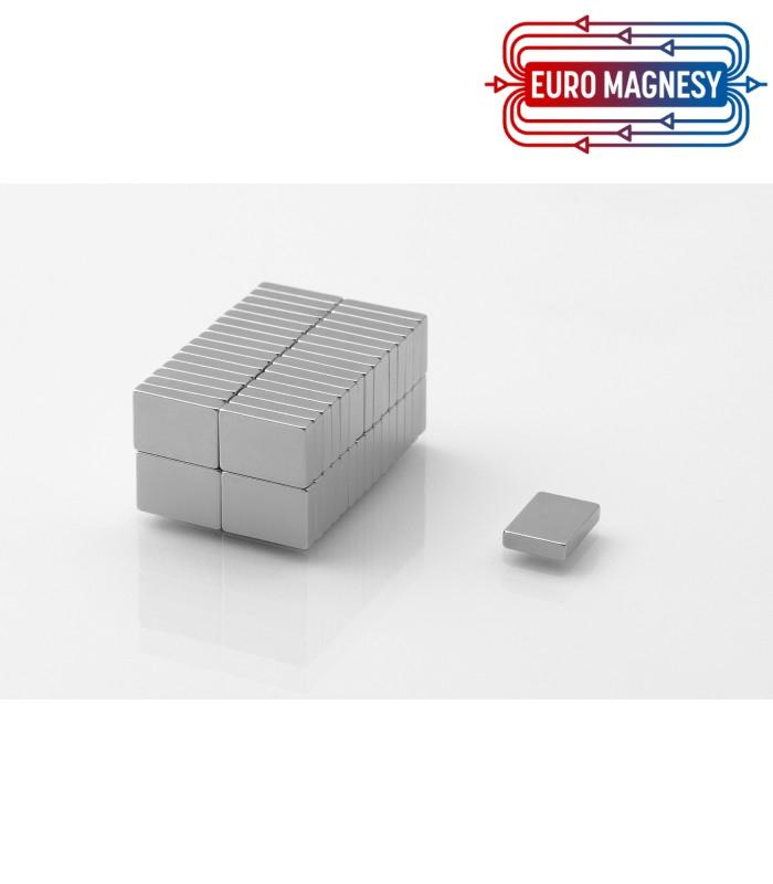 Neodymium block magnet 10x7x2 thick N38