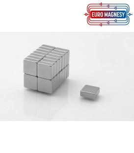 Neodymium block magnet 10x10x4 thick N38