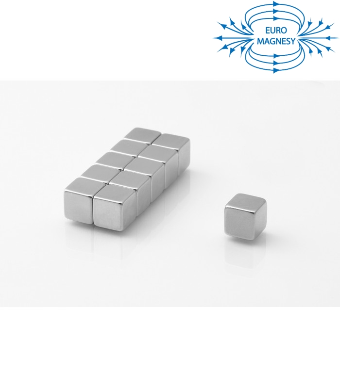 Neodymium block magnet 10x10x10 thick N48
