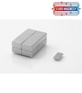 Neodymium block magnet  13x7x2 thick N38