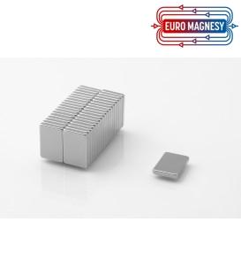 Neodymium block magnet  15x10x2 thick N38