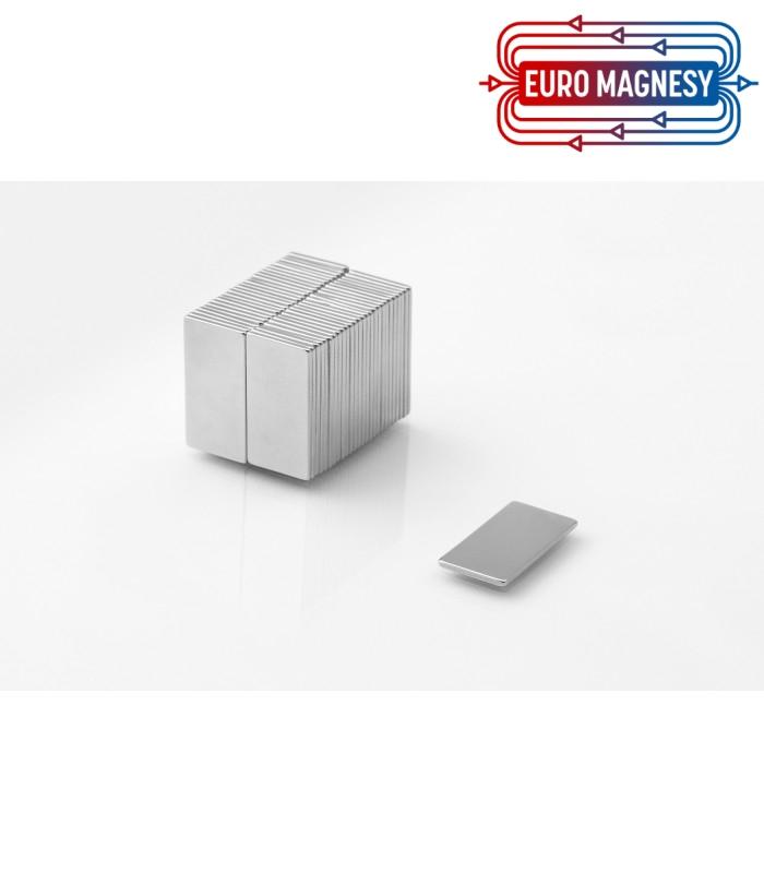MPL 20x10x1 N38 Magnes neodymowy
