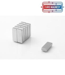 Neodymium block magnet 25x10x5 thick N38