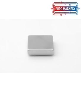 Neodymium block magnet 30x30x7,5 thick N38