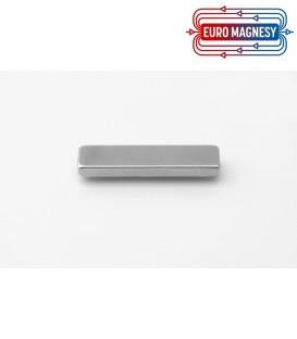 Neodymium block magnet  40x10x4 thick N38