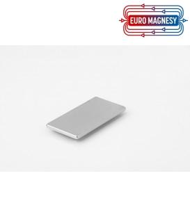 Neodymium block magnet  40x20x2 thick N38