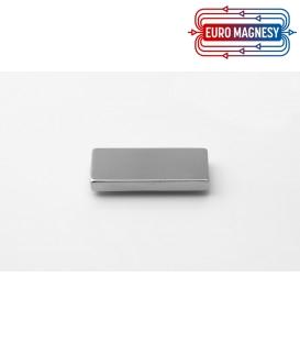 Neodymium block magnet  42x20x5 thick N38H