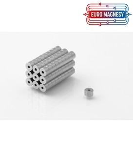 Neodymium ring magnet    5x1,5x3 thick N38