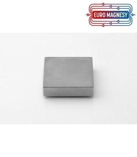Neodymium block magnet  42x42x10 thick N38