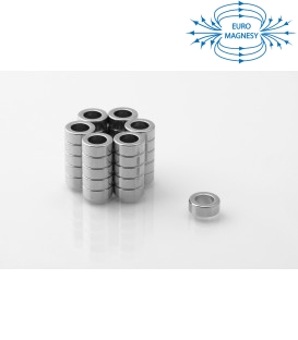 Neodymium ring magnet   10x6x4 thick N38