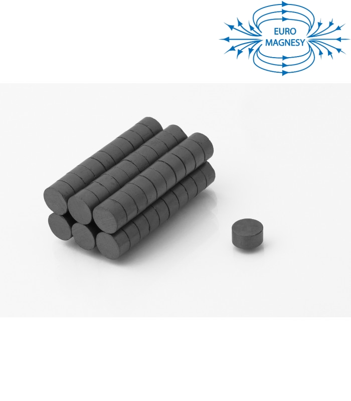 Ferrite disc magnet 10x5 thick Y30