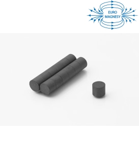 Ferrite disc magnet 12x10 thick Y30