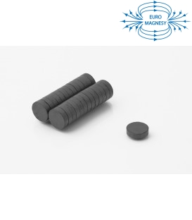 Ferrite disc magnet 15x4 thick Y30
