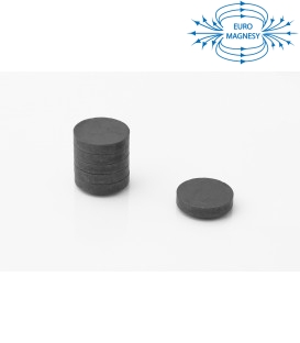 Ferrite disc magnet 25x5 thick Y30