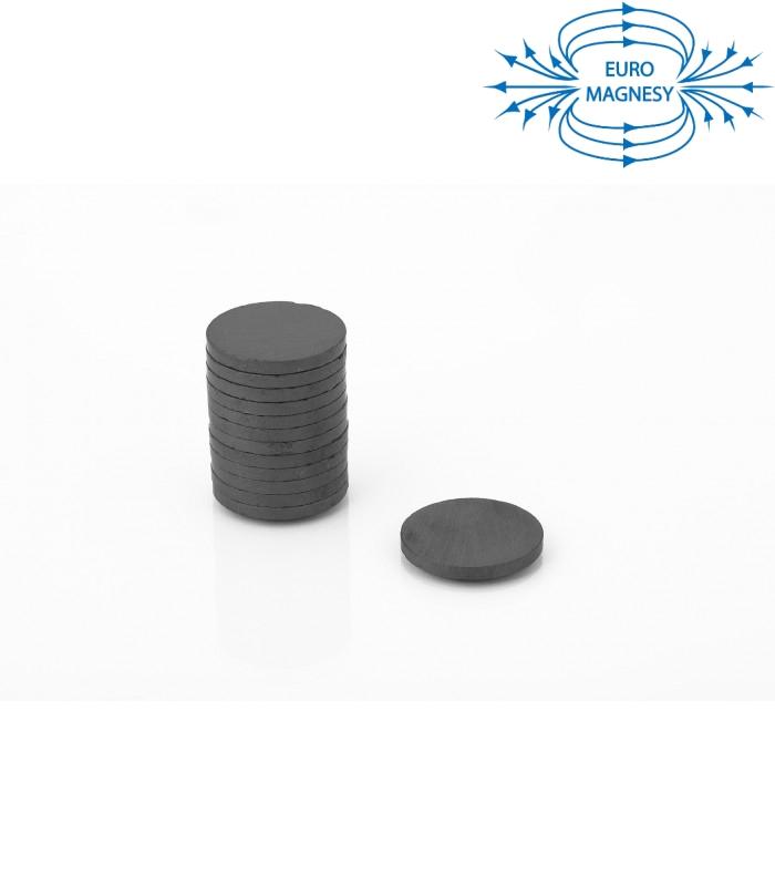 Ferrite disc magnet 30x3 thick Y30