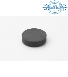 Ferrite disc magnet 45x10 thick Y30