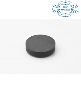 Ferrite disc magnet 50x10 thick Y30
