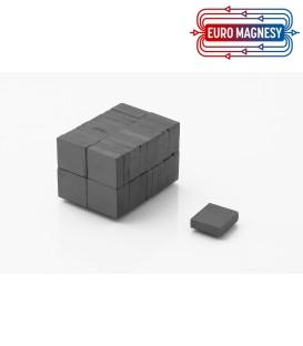 Ferrite block magnet   16x14x4 thick Y30