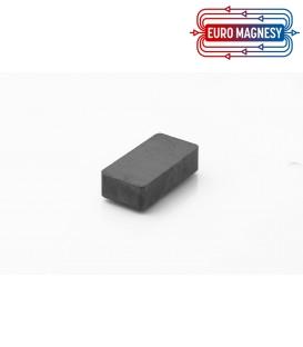 Ferrite block magnet   40x20x10 thick Y30