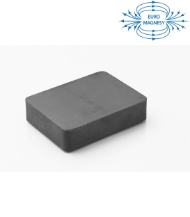 Ferrite block magnet   85x65x20 thick Y30