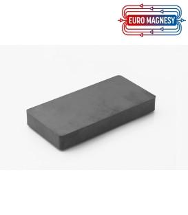 Ferrite block magnet  100x50x13 thick Y30