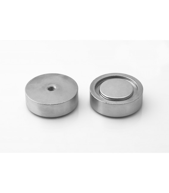 Pot magnet with internal thread 50x15xM8