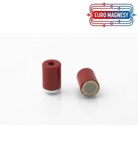 AlNiCo Pot magnet with internal thread 12x16xM5