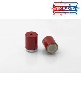 AlNiCo Pot magnet with internal thread 17x20xM4