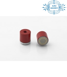 AlNiCo Pot magnet with internal thread 17,5x15,8xM6