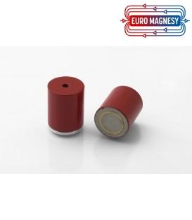 AlNiCo Pot magnet with internal thread 20x24xM4