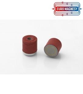 AlNiCo Pot magnet with internal thread 20,6x19xM6