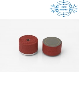 AlNiCo Pot magnet with internal thread 35x20xM6