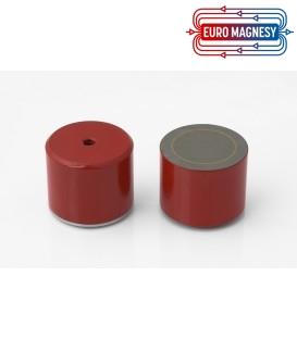 AlNiCo Pot magnet with internal thread 50x40xM8