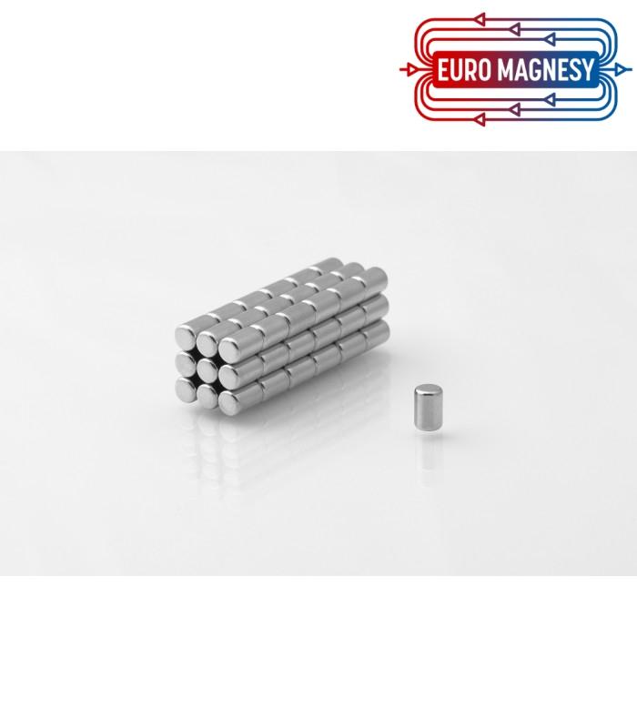 Neodymium disc magnet  4x6 thick N38