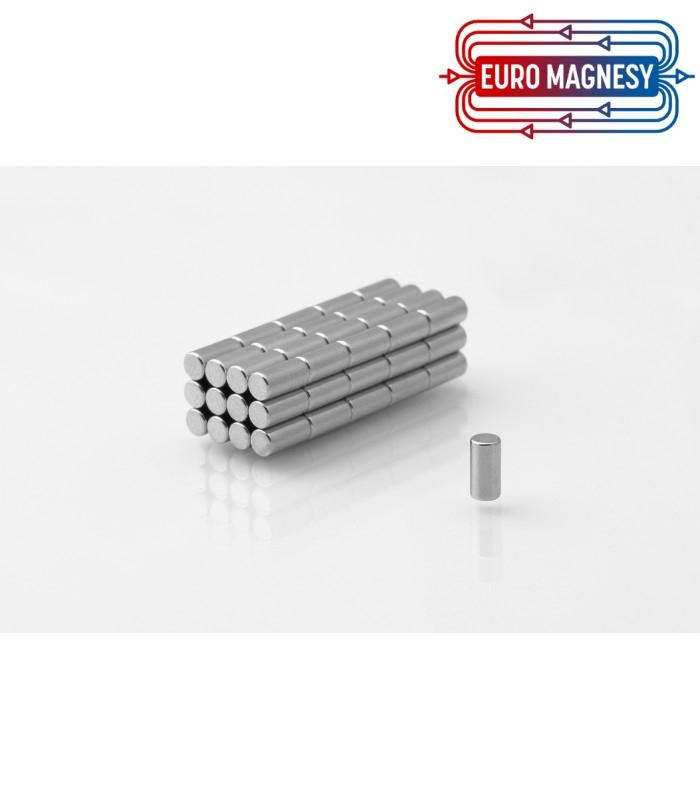 Neodymium disc magnet  3x6 thick N38