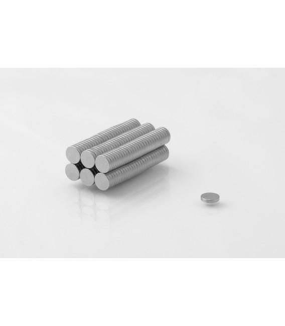 Neodymium disc magnet  5x1 thick N38