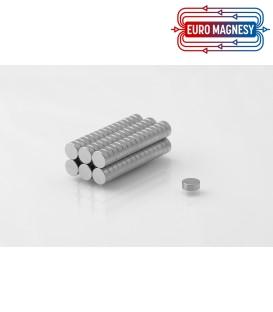 Neodymium disc magnet  5x2 thick N38