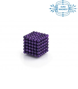 Neocube sphere magnet Ø 5 mm purple