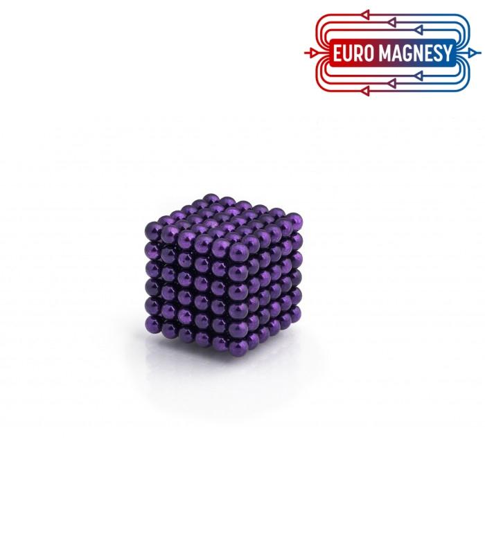 Neocube sphere magnet Ø 5 mm purple