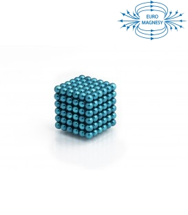 Neocube sphere magnet Ø 5 mm turquoise