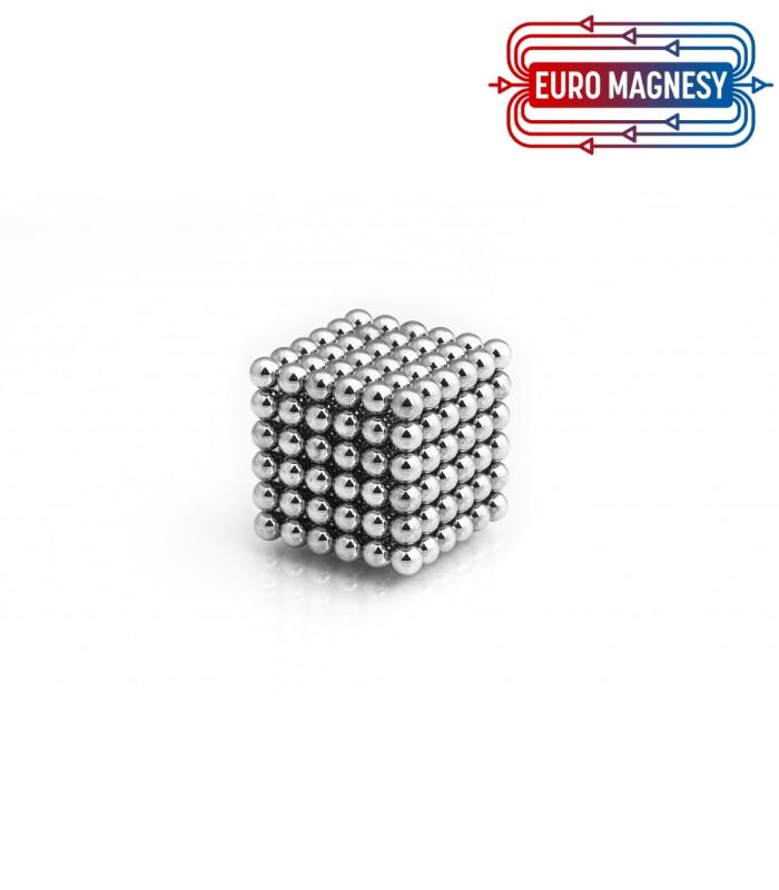 Neocube sphere magnet Ø 5 mm chrome-plated