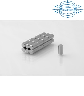 Neodymium disc magnet  5x10 thick N38