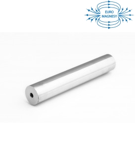 Magnetic tube separator 22x100 2xM6 N38