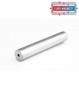 Magnetic tube separator 22x200 2xM6 N38
