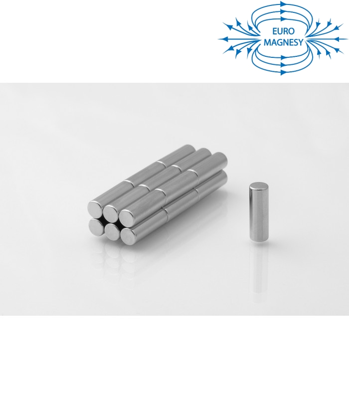 Neodymium disc magnet  5x15 thick N38