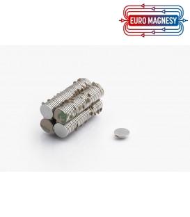 MW 10x1 N38 z klejem 3M Magnes neodymowy