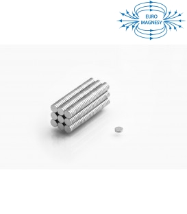Neodymium disc magnet  4x1 thick N38